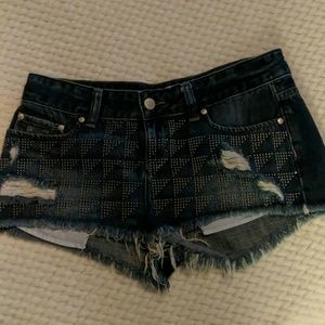 Victoria's Secret PINK denim shorts 4